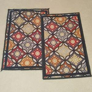 2 Spring tiles brown carpets